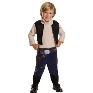 Star Wars Han Solo Costume with Blaster